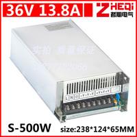500 w 36 v switching power supply, exchange (110/220) dc motor power supply, LED lamp power supply