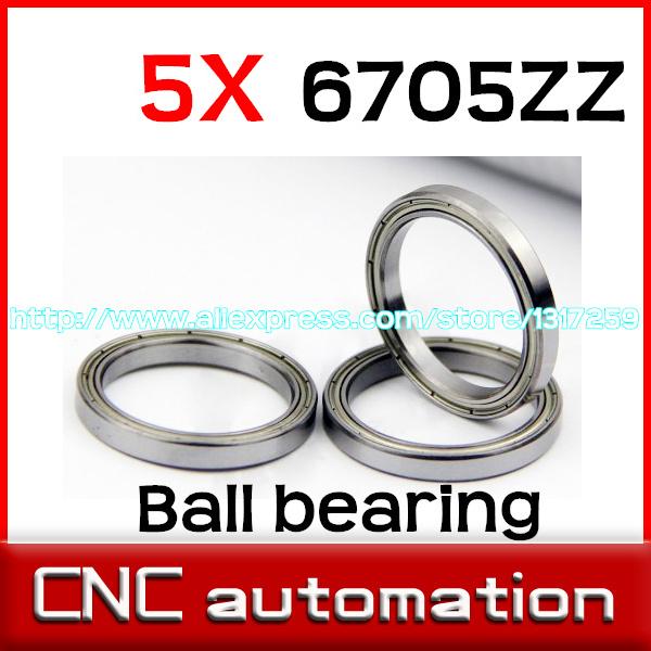 Шариковый подшипник с глубоким жёлобом 5pcs 6705 6705 ZZ 6705 2RS 25X32X4mm gcr15 5206 zz 3206 zz or 5206 2rs 3206 2rs bearing 30x62x23 8mm axial double row angular contact ball bearings 1pc