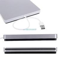 New Arrive USB External Slot in DVD CD RW Drive Burner Superdrive for Apple MacBook Air Pro Hot New