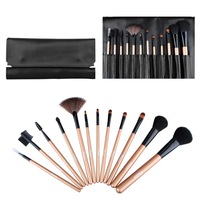 Brand New 12Pcs Portable Styling Tools Professional Makeup Brushes Set Face Care Make Up Maquiagem Cosmetics Free Shipping