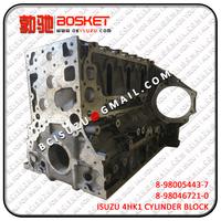 ISUZU NQR NPR XD 4HK1 Engine Cylinder Block 8980467210 8-98046721-0 ; 8980054437 8-98005443-7