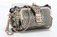 free shipping 2014 fashion  style Genuine leather shining stone  Evening Bag women party handbag NO B164