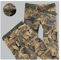 Free shipping 2014 men camouflage height trousers slacks tide male pants pants accented outdoor CS trousers camouflage pants