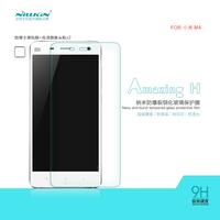 NILLKIN Amazing H Nanometer Anti-Explosion Tempered Glass Screen Protector For Xiaomi M4 4 Mi4,MOQ:1PCS