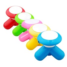 NewCute Handled USB/Battery Electric Mini Vibrating Full Body Massager #2014 Free Shipping(China (Mainland))