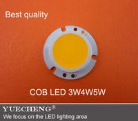 high lumen cob led module led cob spotlight lighting source 3W4W5W free shipping