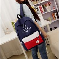 schoolbag hot sale children school bags exo bags 2014 new canvas college wind shoulder bag korean men and women fashion student