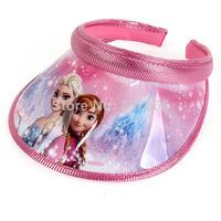 Frozen Cap Free Shipping In Stock Frozen Sun Hat for Girls Princess Frozen Elsa & Anna Hats Frozen Caps For Girls Fast Shipment