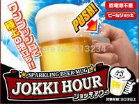 Free Shipping Beer Foamer Mug Sparkling Beer Mug / Foam-Generating Beer Mug Two Colors