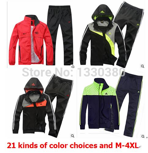 Free shipping men's sports suit men's sportswear warm sports jacket sportswear, coats, jackets,hoodies(China (Mainland))