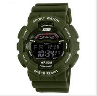 The new men's watch that electronic waterproof sports men and women fashion joker tide fashion choice