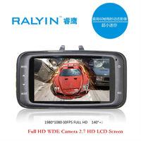 Original Brand RALYIN High quality cheap car dvrs Camera Car DVR 2.7 inch 1080P G-Sensor hd night vision Recorder Video parking
