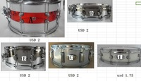 two side lug snare drum lugs