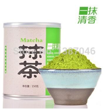 Maccha powder Japanese matcha green tea powder Eating baked Matcha tea with milk, 150 g,, food lose weight products(China (Mainland))