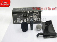 High Quality  Free Shipping SM58S Clear Sound Handheld Karaoke Microphone with on/off Switch Wired