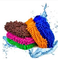 Free Shipping New Soft Mitt Microfiber Car Wash Washing Cleaning Glove car styling