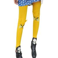 Women Leggings New 2014 Fashion Cotton Casual Print Animal Cute Spring and Autumn Legging For Women 1957