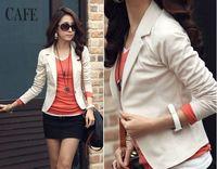 [s-1458] 2014 Unique design new hot plus size stylish and comfortable Wild lace chiffon jacket coat Slim small suit jacket