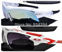 2014 New Fashion Summer Cycling Semi-Rimless Frame Brand Coating Sunglasses Men Women Outdoor Sports Eye Glasses Oculos De Sol