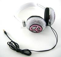 2014 Hot Free shipping(10pcs/lot) Wholesale Fashion Peace jewelry headphone for computer