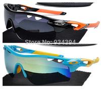 2014 Fashion Summer Cycling Semi-Rimless Frame Brand Coating Sunglasses Men Women Eye Glasses Oculos De Sol Outdoor Sports & Fun