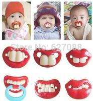 pacifier Funny creative buck teeth pacifier nipple fittings rabbit teeth variety styles
