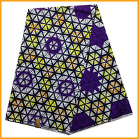 Free shipping 6yards/lot Purple Color cotton patchwork fabric hollandais super wax, african wedding fabric your own design MT13
