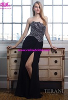 Elegant Special Hot Sale Sexy High-neck Empire Charming Style Discount Cheap Prom\evening\party\cocktail Dress\gown 2013brid