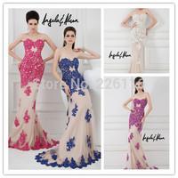 2014 Sale Elegant Sweetheart Neckline Floor Length Gown Lightly Beaded Lace Appliques Evening Dresses Angela And Alisonbridalk