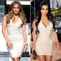 2014 sale new hot&sexy mini sheath gowns kardashian celebrity dresses fitted ruffles side lace-up custom vestidos de fiestabrid