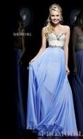 Vestido Longo Real Vestido De Renda 2014 New Prom Gown Sweetheart Floor-length Sleeveless Beading Fiesta Evening Dressesbridalk