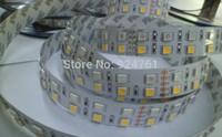12V 120leds/m double lines 5050 LED RGBW LED Strip RGB+ warm White