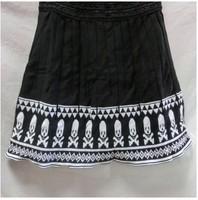 New 2014 Autumn Korean Fashion Skirts womens skirt National Geometrical  Print  High Waist A-line Mini Skirts Free Shipping 8017