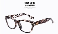 (10 pieces/lot)New fashion acetate eyeglasses frames many colors