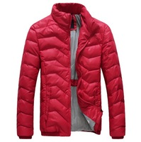 2014 Men's Down jacket With Hood 90% Duck Down Winter Overcoat Autumn Outwear Winter Coat Free Shipping 818-1