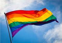 2014 Rainbow Flag 90x150cm 3x5feet  100% Polyester Lesbian Gay Pride LGBT Fancy NICE Quality / Gay Freedom Day Parade