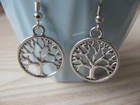 Fashion jewelry Creative Earrings tree of life Earrings Fashion Gift 0075 Free shipping