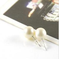 simple pearl earrings round earrings exquisite Korean version of the popular girls favorite models