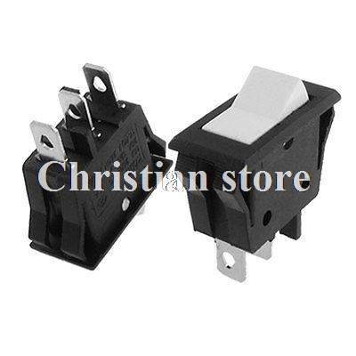 Кулисный переключатель Rocker Switches 10 x AC 6A/250 10 /125V 3 SPDT -