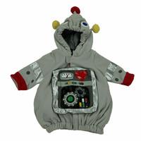 American trade of the original single- child coat styling brand new robot double fleece jacket cardigan jacket
