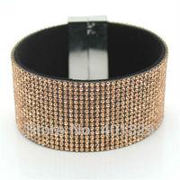 2014 Hit The Magnet Buckle Bracelet Wholesale Diamond Bracelet The French Bracelet Selling Foreign Trade Exports