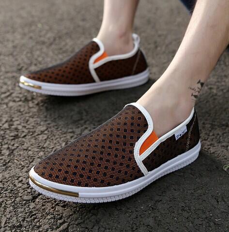 2014 été, maillage. découpe sneaker men new hot chaussures homme décontractéfabricant respirant. chaussures de plage pour les hommes
