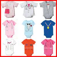 2014 summer newborn carters  baby boy and girl roupas de bebe bodysuits bebe climbing clothes jumpsuit