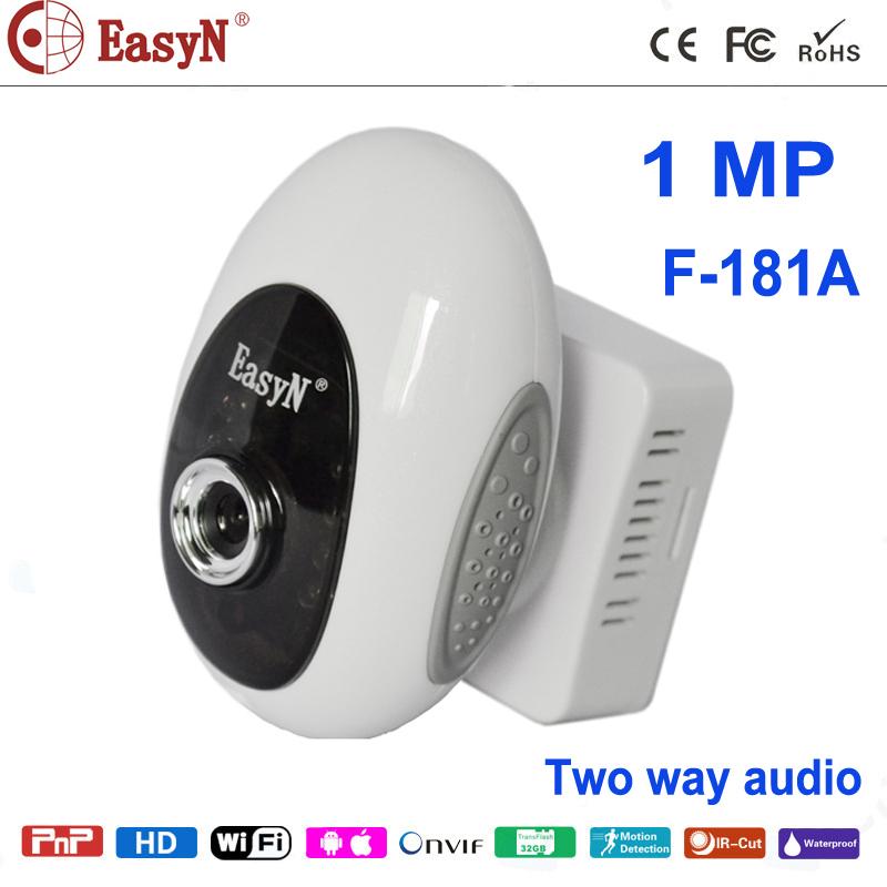 EasyN IP camera mini robot baby monitor cute stype 0.3 MP 3.6 mm lens 5pcs LED IR 10M night vision distance(China (Mainland))