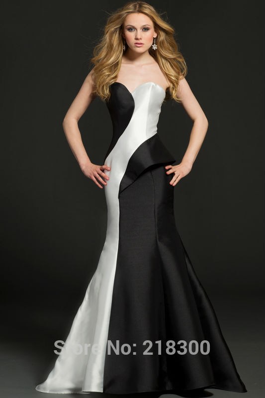 Reviews of different dresses long evening dresses black and white
