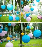 New 2014 (20pcs/lot) 8''(20cm) Chinese paper lantern lamp festival&wedding decoration 12 colors for choosing wedding lantern