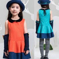 2013 Autumn girls dress children wear girls dress princess autumn
