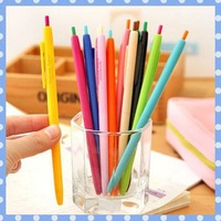 [Amy] free shippinghigh 12pcs/lot Pure and fresh and contracted candy colors gel pen high quality on Amy shop
