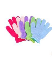 Free shipping 2pcs/lot Konka lili glove frosted bath set/rubbing towel