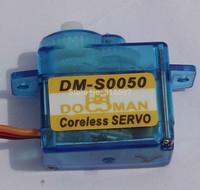 100pcs/lot DOMAN RC DM-S0050 5g coreless micro rc servo